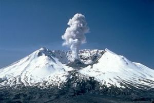 Mount St. Helens, picture from Wikipedia