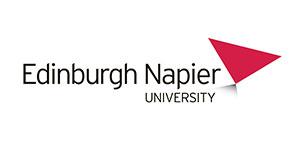 image of the Edinburgh Napier University logo for MTI's clients