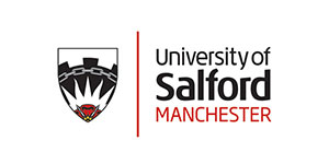 image of the Salford university logo for MTI's clients