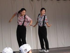 第五陣越前おおのとんちゃん祭のスタッフをしました。「IMPROVE」のロボットダンス /どこまでもアマチュア