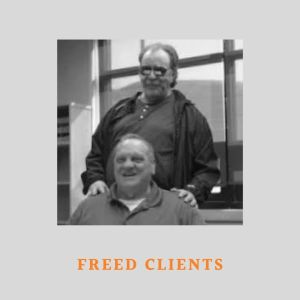 Photo of Fred Lawrence and Paul Jenkins