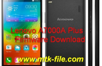 Lenovo A7000A Plus MT6572 Firmware Flash File Without Password