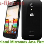 Micromax A114 Flash File