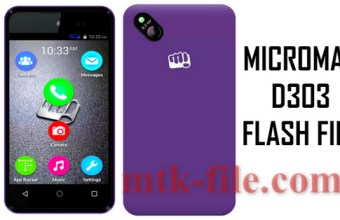 Micromax D303 Flash File (ALL Version) 100% Tested Download