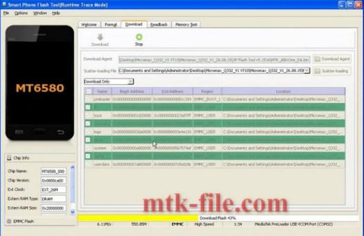 micromax q332 firmware