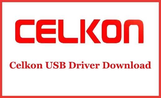 Celkon USB Driver Download