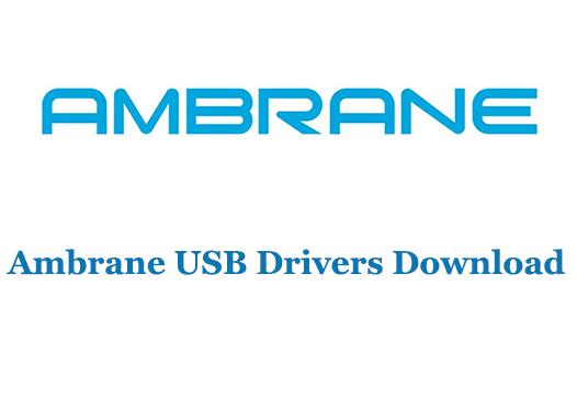 Ambrane USB Drivers Download