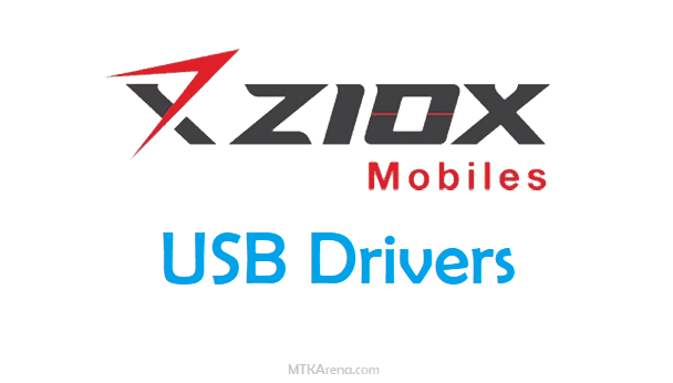 Download and install Ziox USB Drivers for All Models