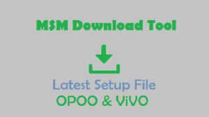MSM Download Tool Latest Setup