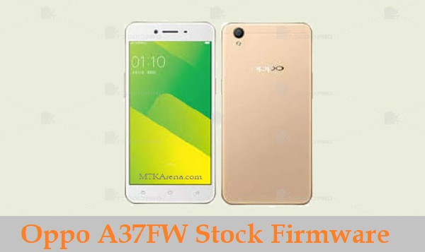 Oppo A37FW Stock Firmware download