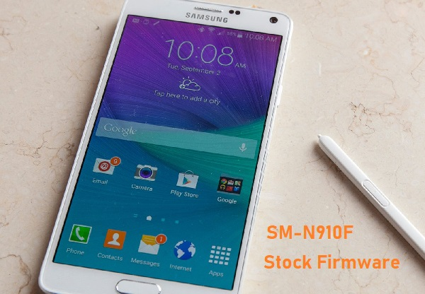 Samsung Galaxy Note 4 SM-N910F Stock Firmware Download