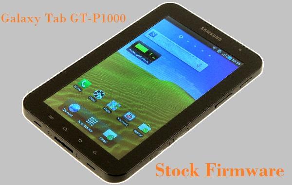 Samsung Galaxy Tab GT-P1000 Stock Firmware Download