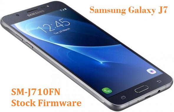 Samsung Galaxy J7 2016 SM-J710FN Stock Firmware Download