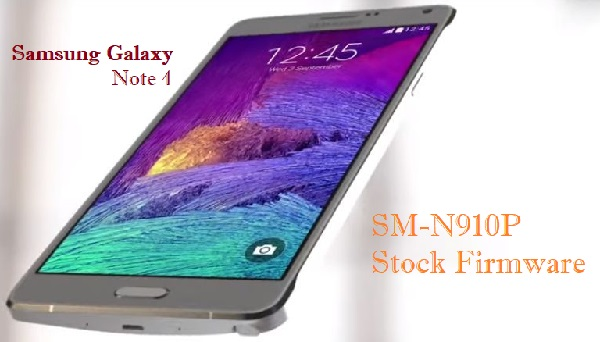 Samsung Galaxy Note 4 SM-N910P Stock Firmware Download
