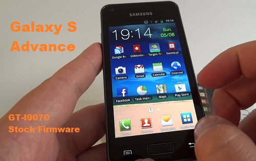 Samsung Galaxy S Advance GT-I9070 Stock Firmware Download