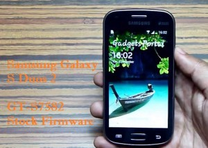 Samsung Galaxy S Duos 2 GT-S7582 Stock Firmware Download