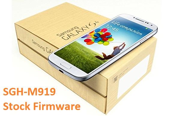 Samsung Galaxy S4 SGH-M919 Stock Firmware Download