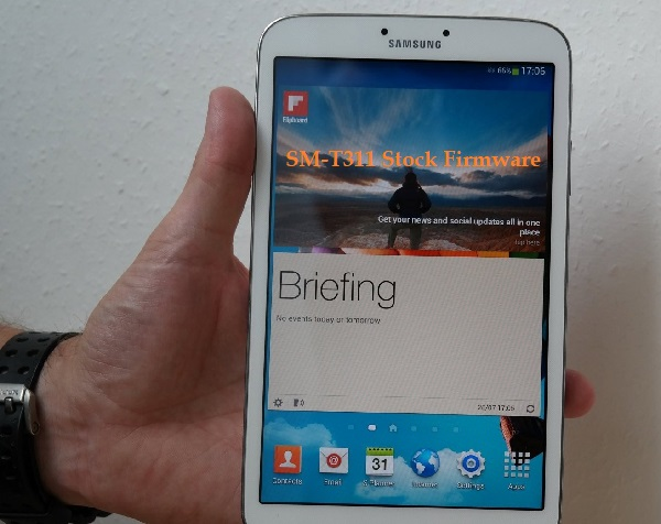Samsung Galaxy Tab 3 8.0 (WiFi) SM-T311 Stock Firmware Download