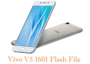 Vivo V5 1601 Flash File (Stock Firmware) Download