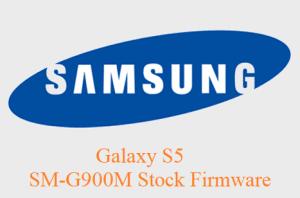 Samsung Galaxy S5 SM-G900M Stock Firmware Download
