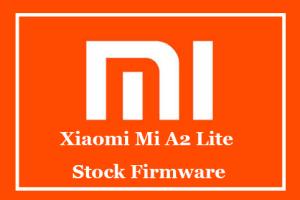 Xiaomi Mi A2 Lite Stock Firmware