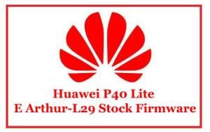 Huawei P40 Lite E Arthur-L29 Stock Firmware