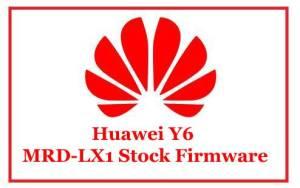 Huawei Y6 MRD-LX1 Stock Firmware