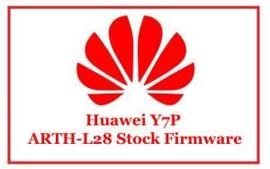 Huawei Y7P ARTH-L28 Stock Firmware