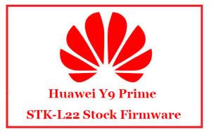 Huawei Y9 Prime STK-L22 Stock Firmware