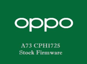 Oppo A73 CPH1725 Stock Firmware Download