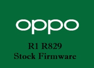 Oppo R1 R829 Stock Firmware Download