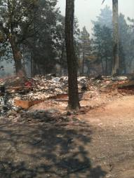 Sierra Club Cabin burned.