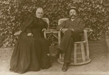 J and EC Stirling at St Vigeans
