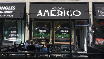 Glenn J. Nashen: Welcome home at Bistro Amerigo