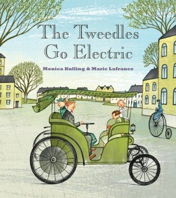 The Tweedles Go Electric, by Monica Kulling