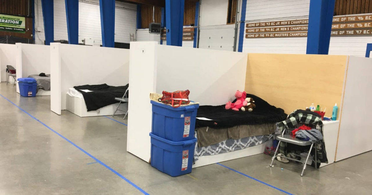 Montreal opens temporary homeless shelters due to curfew