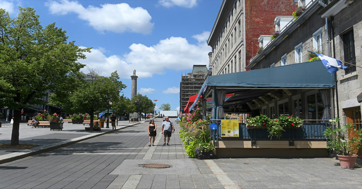 Montreal Mayor stands up for bar restaurant terraces to open