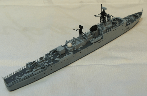 HMS Relentless Type 15 Frigate M T Miniatures Ltd