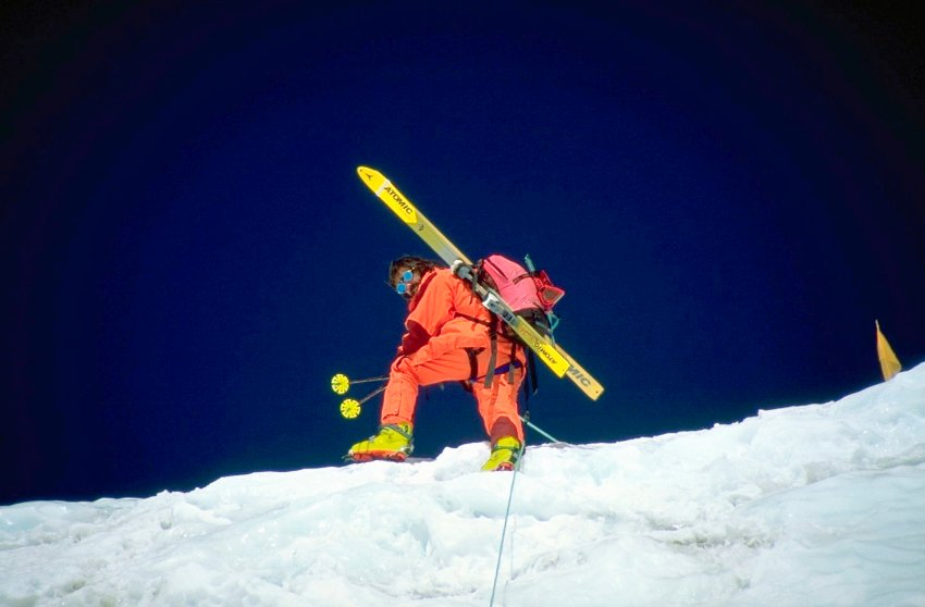 Hans Kammerlander Ski Down Everest