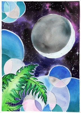Ferns for the Moon