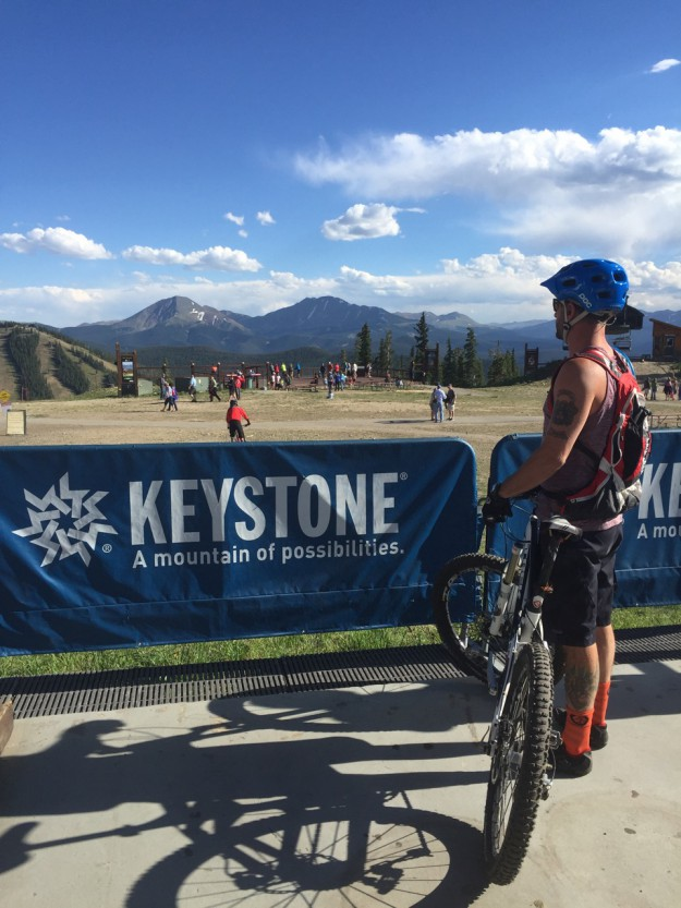Top of Keystone
