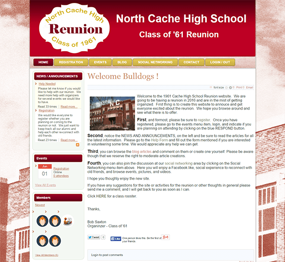 North Cache High Reunion