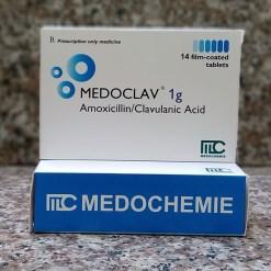 kháng sinh Medoclav 1g