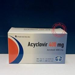 Acyclovir 400mg kháng virus