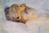 Old Man on his Deathbed, by Gustav Klimt