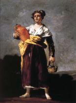 Water Carrier, by Francisco Goya ~1810