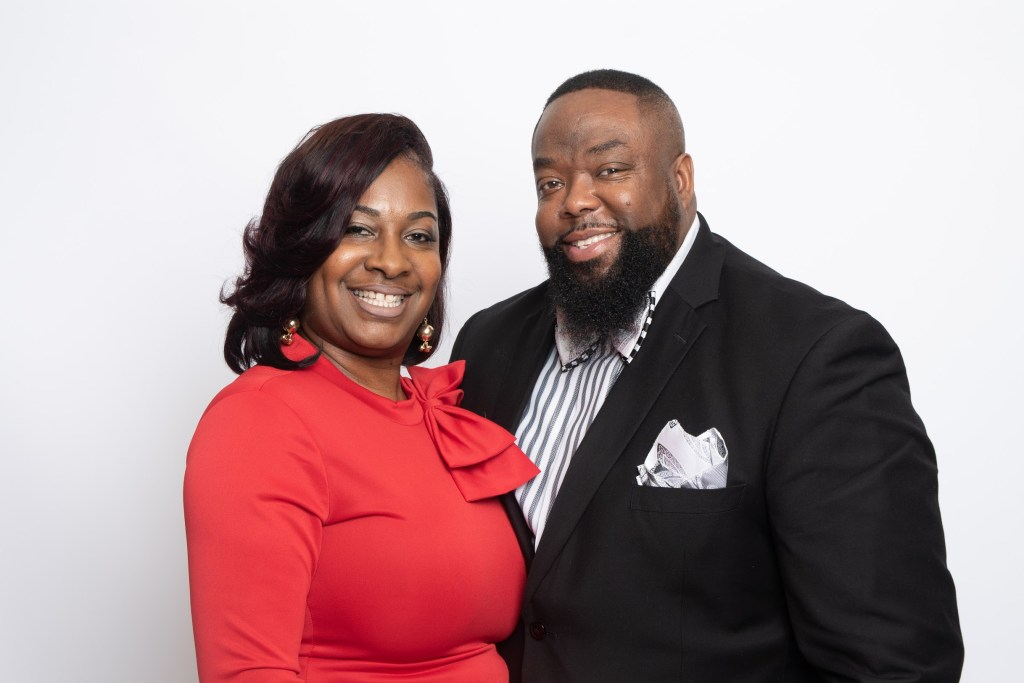 Pastor DM and First Lady Simmons