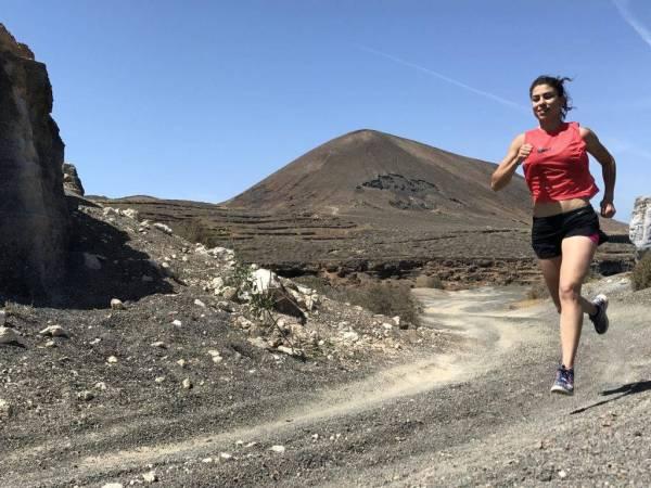 mtraining running Lanzarote