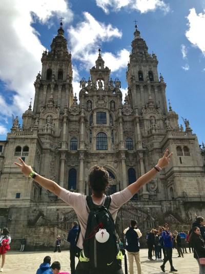 fin del camino de santiago catedral mTraining