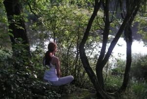 meditation river